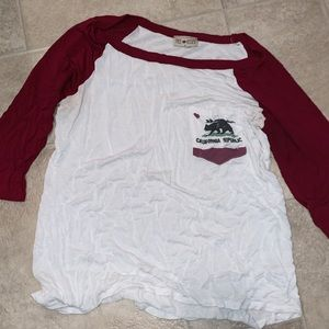 Tops - Mid sleeve tee shirt